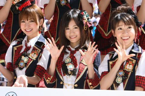 Which AKB48 members earned the highest annual income