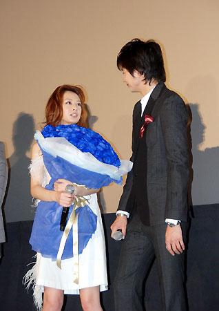 Photo of Osamu Mukai & his friend  Shinjo Takehiko