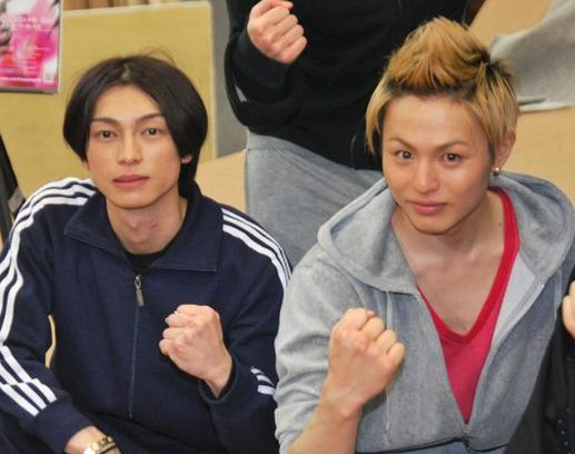D-BOYS Araki Hirofumi & Endo Yuya show off their passionate