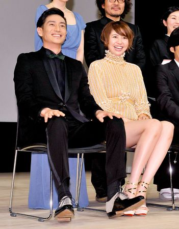 Masami Nagasawa and her Boyfriend Yusuke Iseya were in a relation in March 2013