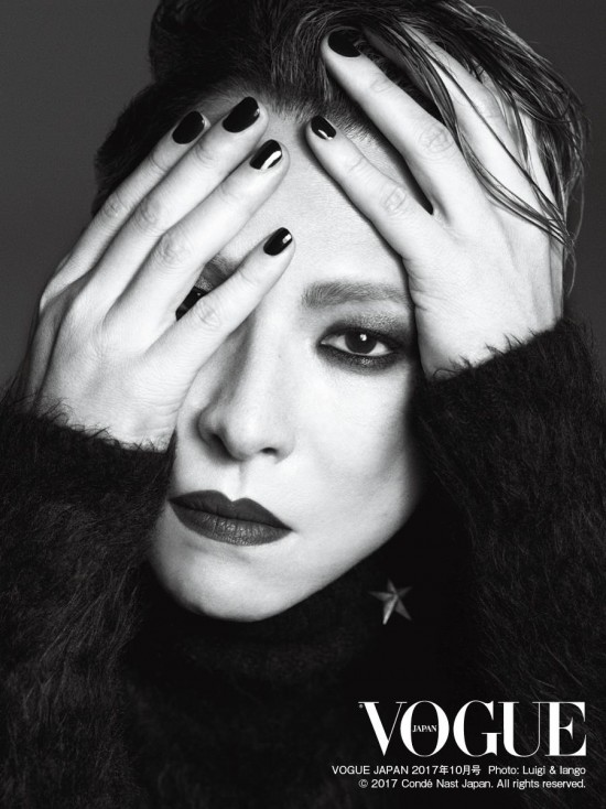 Yoshiki Chosen For The Cover Of Vogue Japan S Rock Star