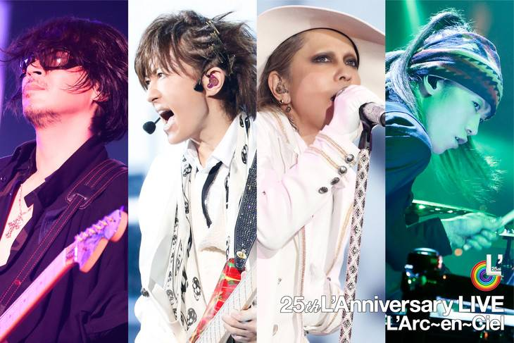 L arc en ciel to release live album and dvd blu ray tokyohive